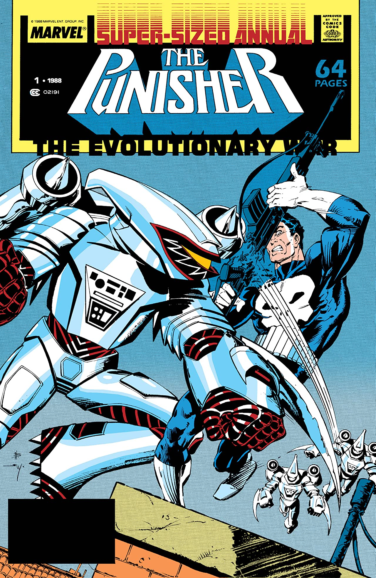 The Punisher (1987-1995) Annual #1