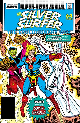 Silver Surfer (1987-1998) Annual #1