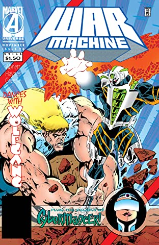War Machine (1994-1996) #20