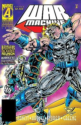War Machine (1994-1996) #21