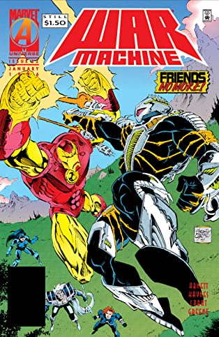 War Machine (1994-1996) #22