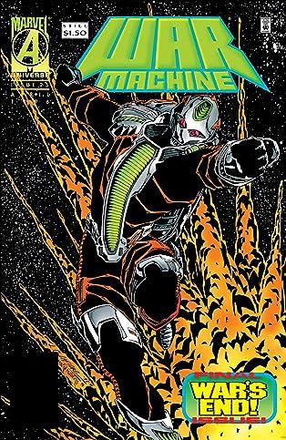 War Machine (1994-1996) #25