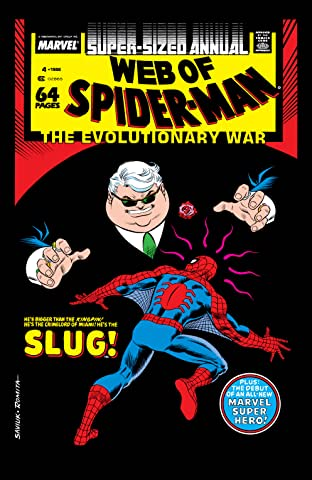 Web of Spider-Man (1985-1995) Annual No.4