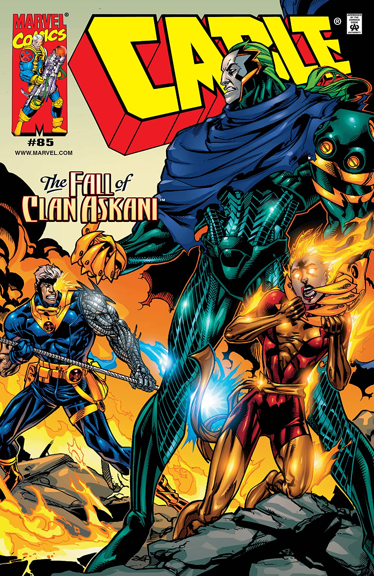 Cable (1993-2002) #85