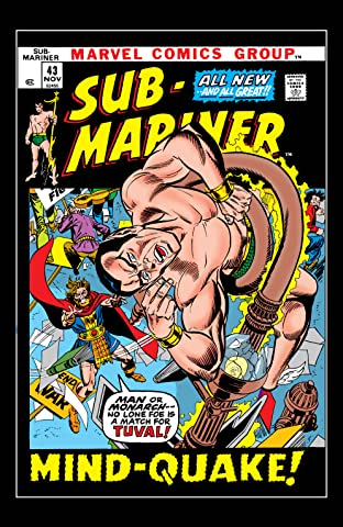 Sub-Mariner (1968-1974) #43