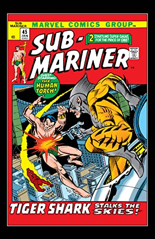 Sub-Mariner (1968-1974) #45