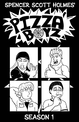 Pizza Boyz - Season 1 - Graphic Novel