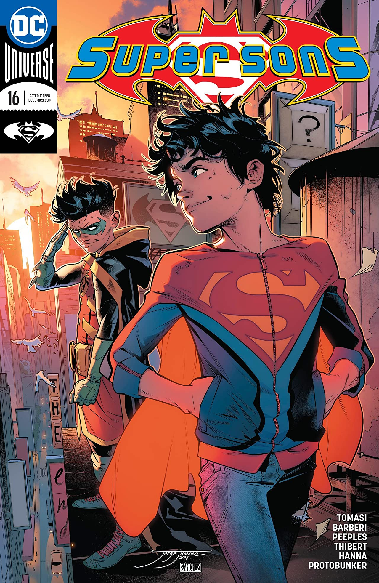 Super Sons (2017-2018) #16