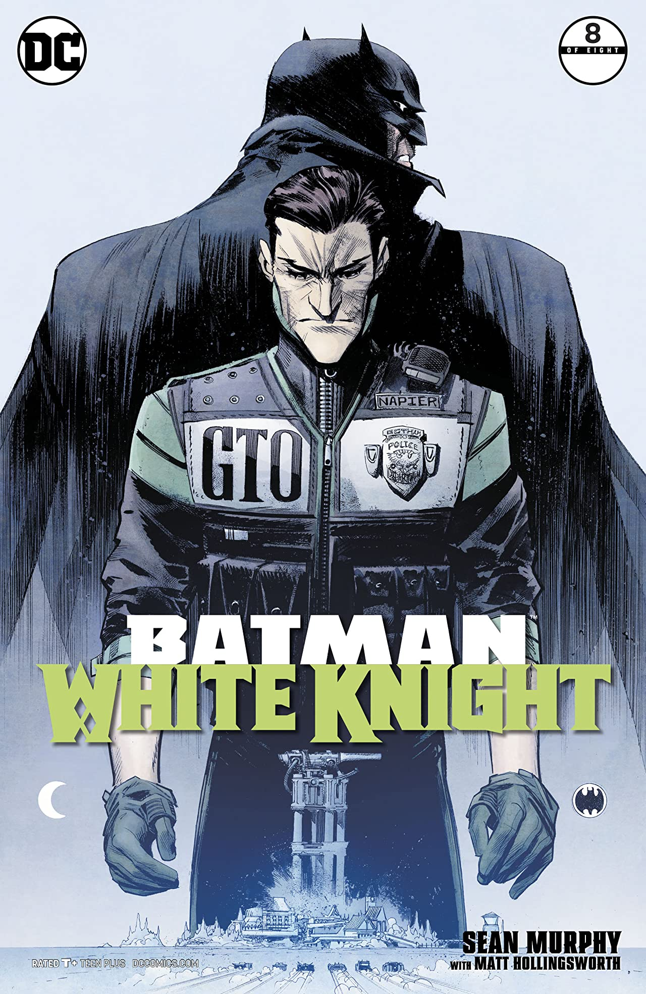 Batman: White Knight (2017-) No.8