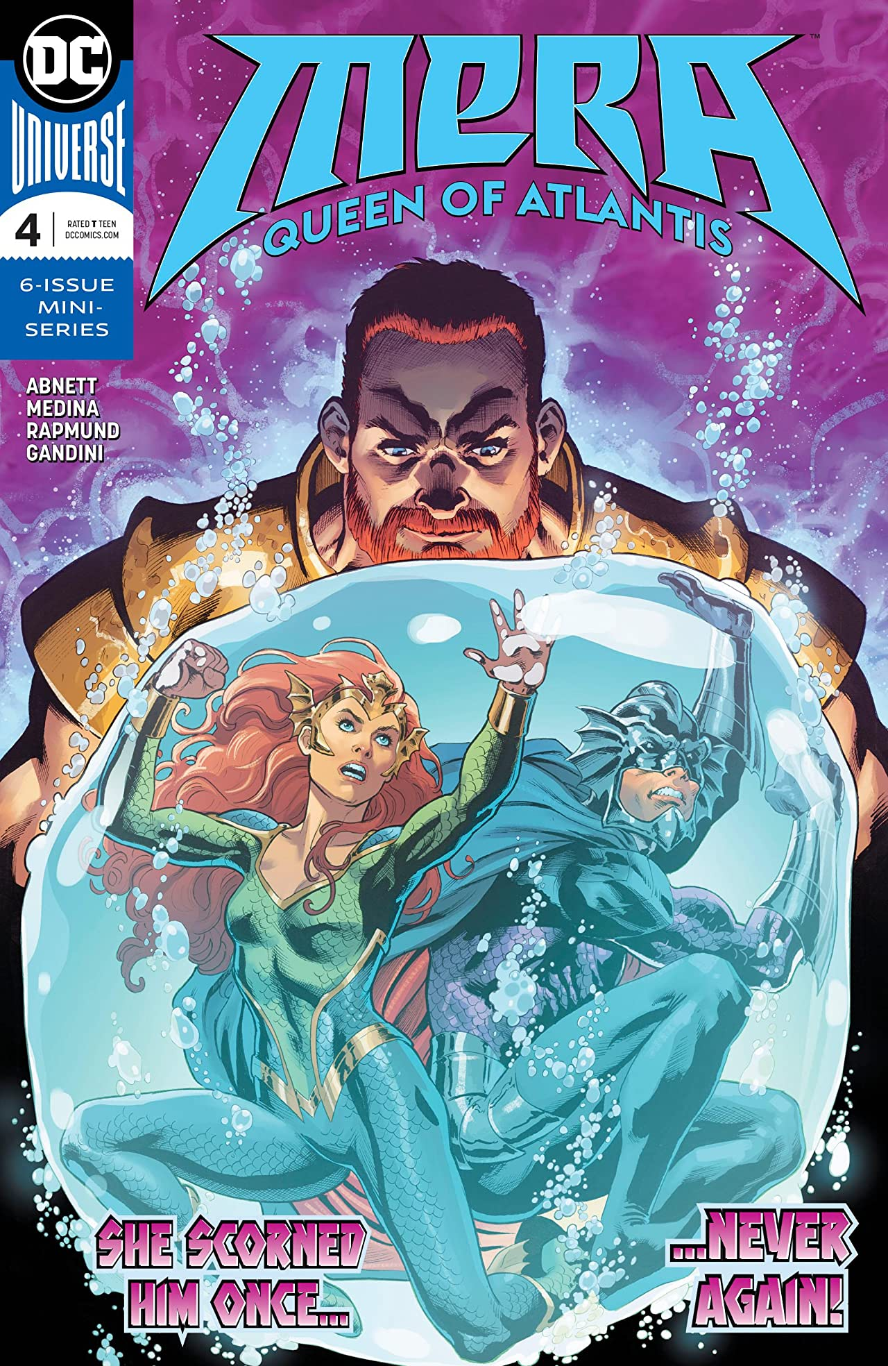 Mera: Queen of Atlantis (2018-) No.4