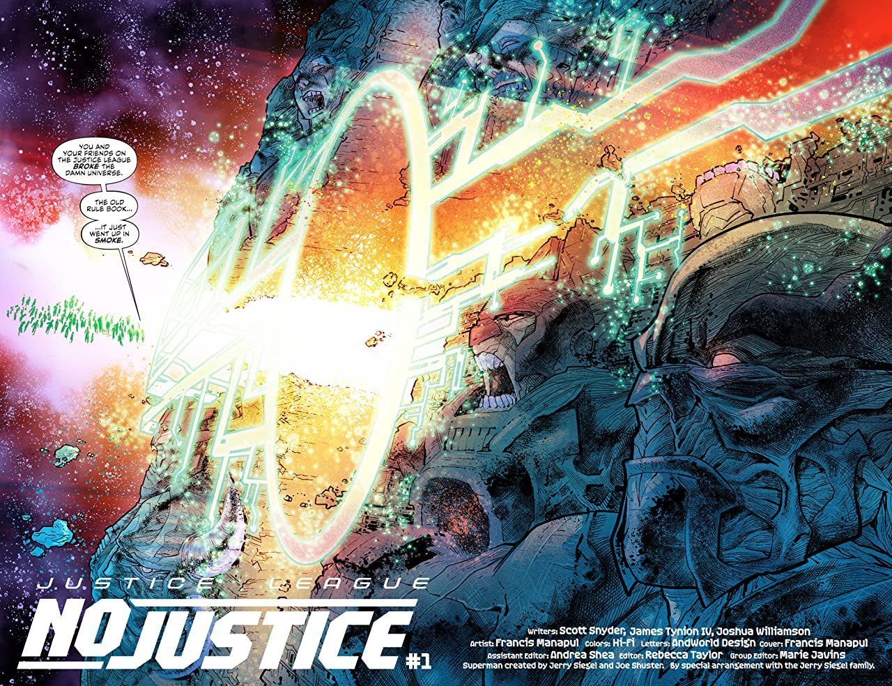 Justice League: No Justice (2018) #1