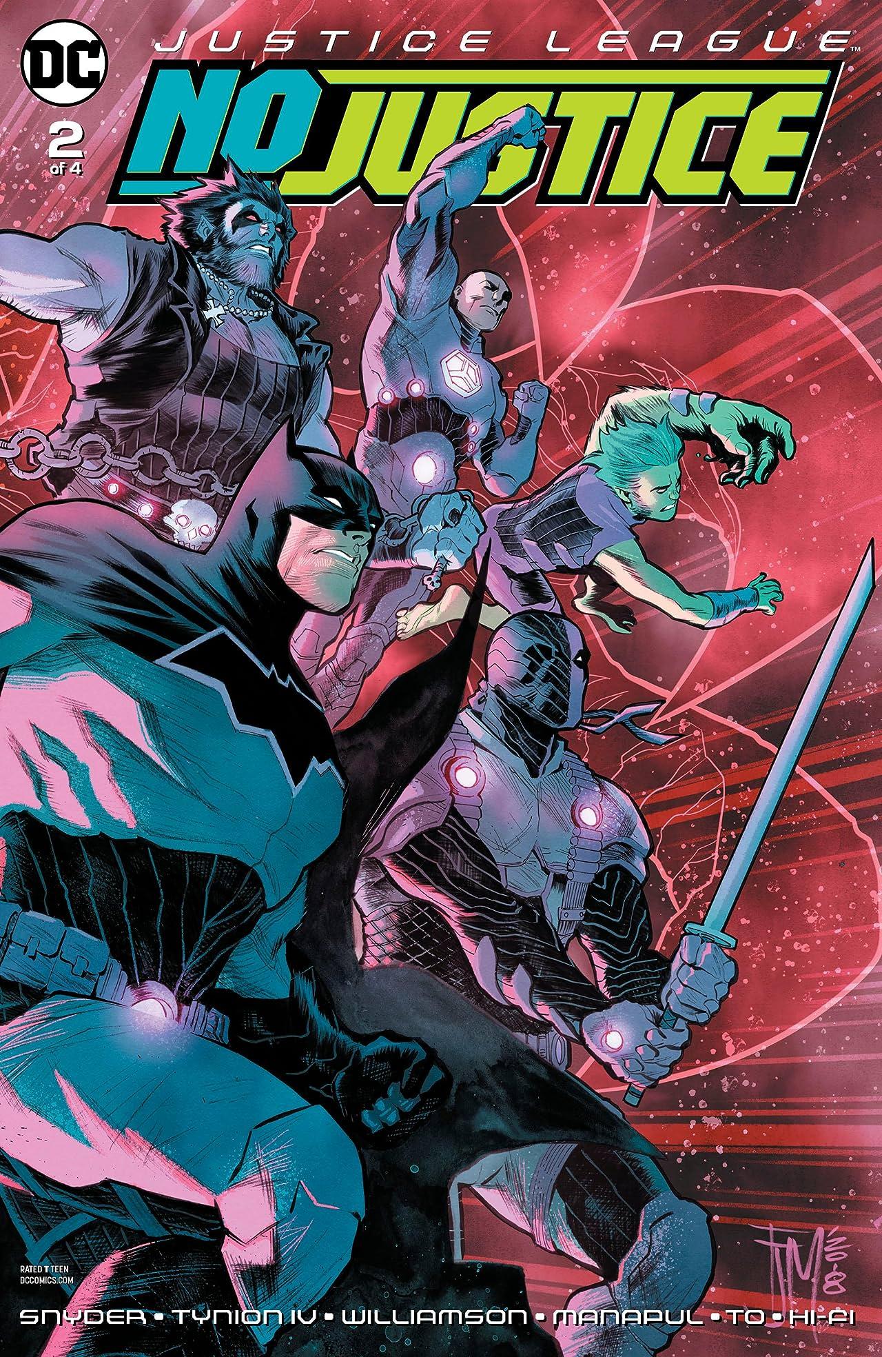 Justice League: No Justice (2018-) No.2