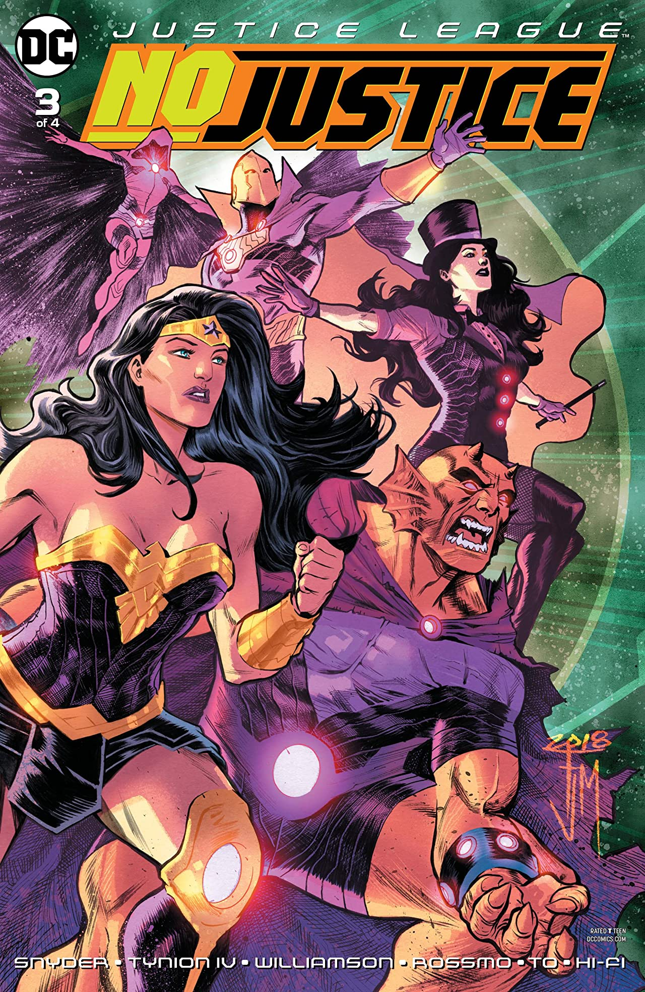 Justice League: No Justice (2018-) #3