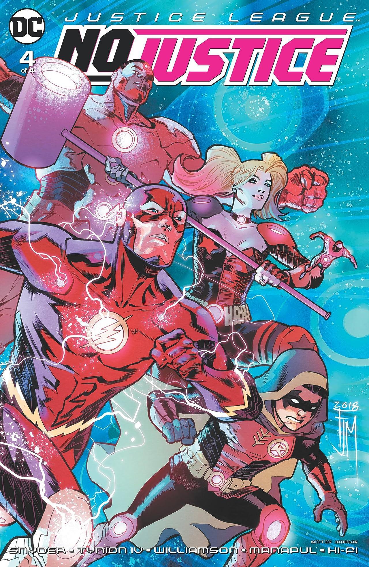 Justice League: No Justice (2018) No.4