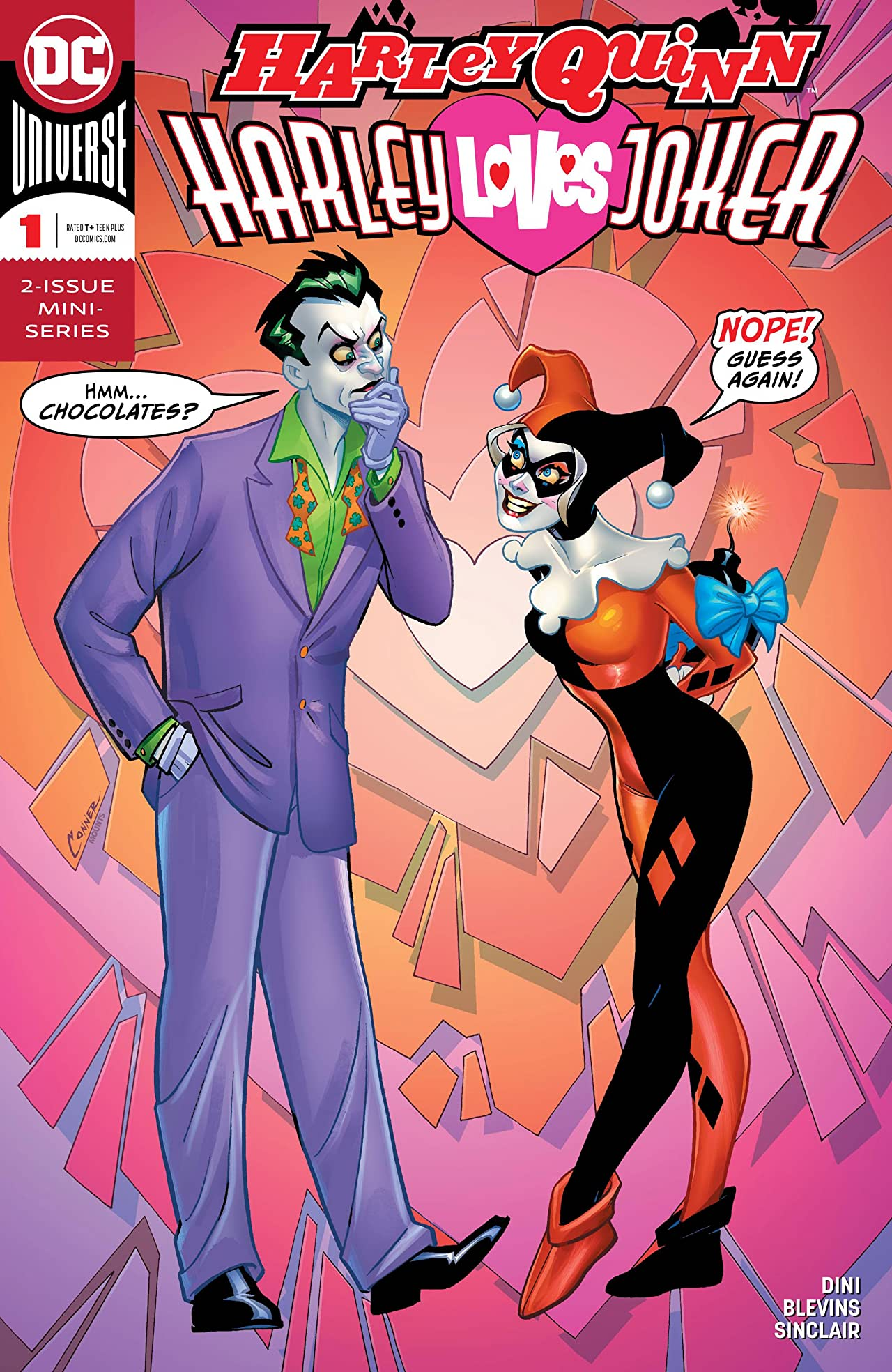 Harley Quinn: Harley Loves Joker (2018-) #1
