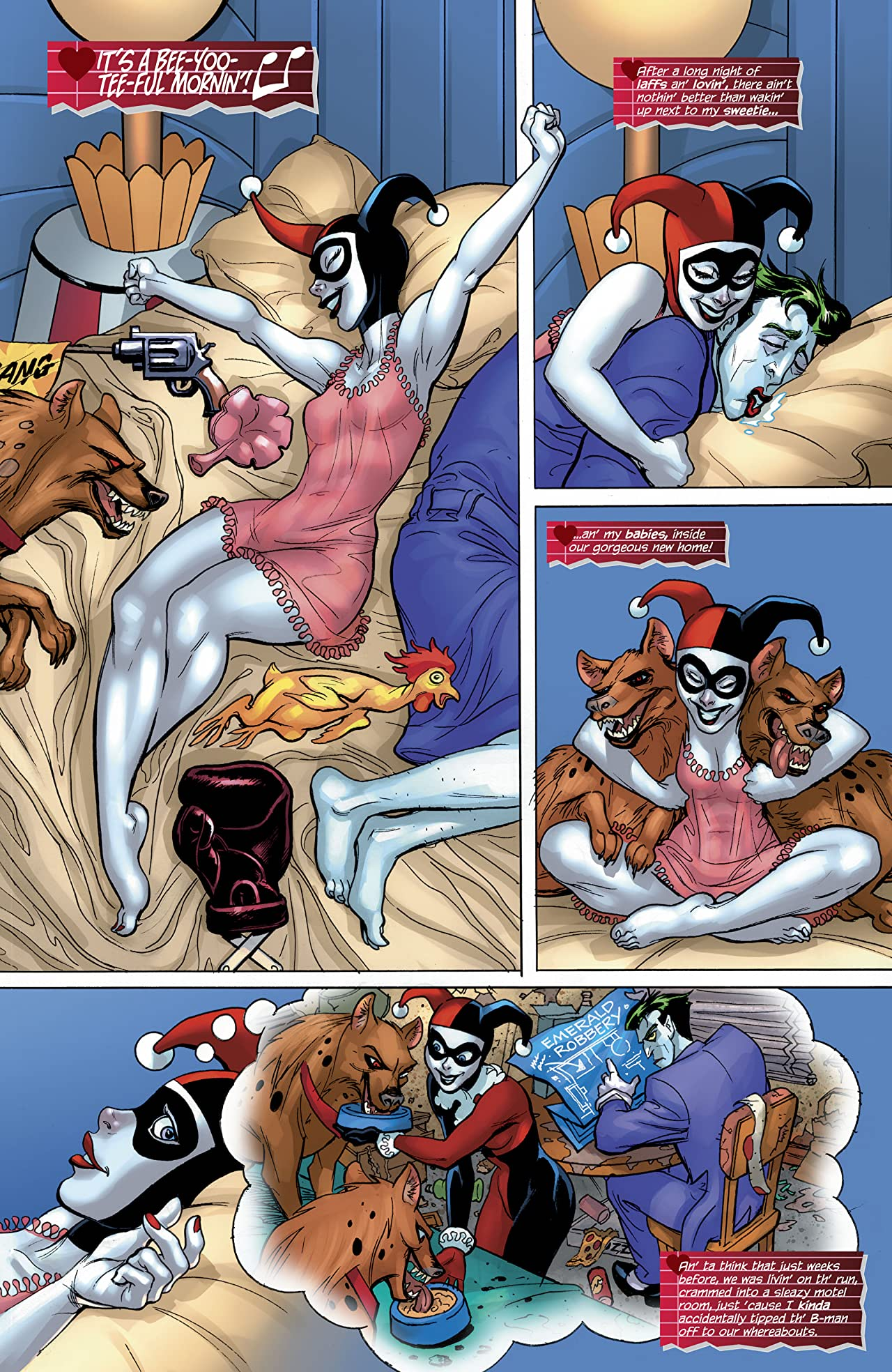 Harley Quinn: Harley Loves Joker (2018-) #1