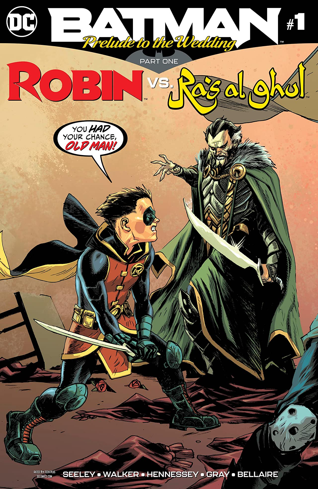 Batman: Prelude to the Wedding: Robin vs. Ra's Al Ghul (2018-) No.1