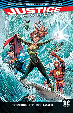 Justice League: The Rebirth Deluxe Edition - Book 2