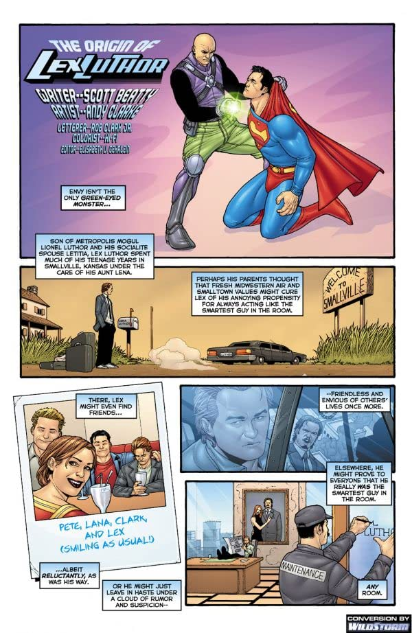 The Origin of Lex Luthor #1