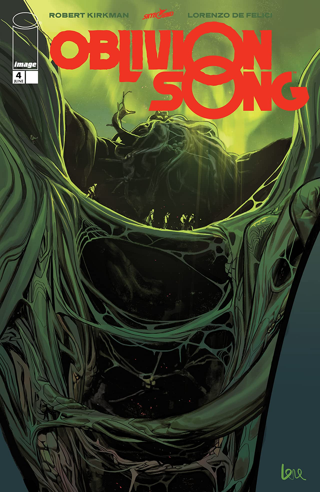 Oblivion Song By Kirkman & De Felici No.4