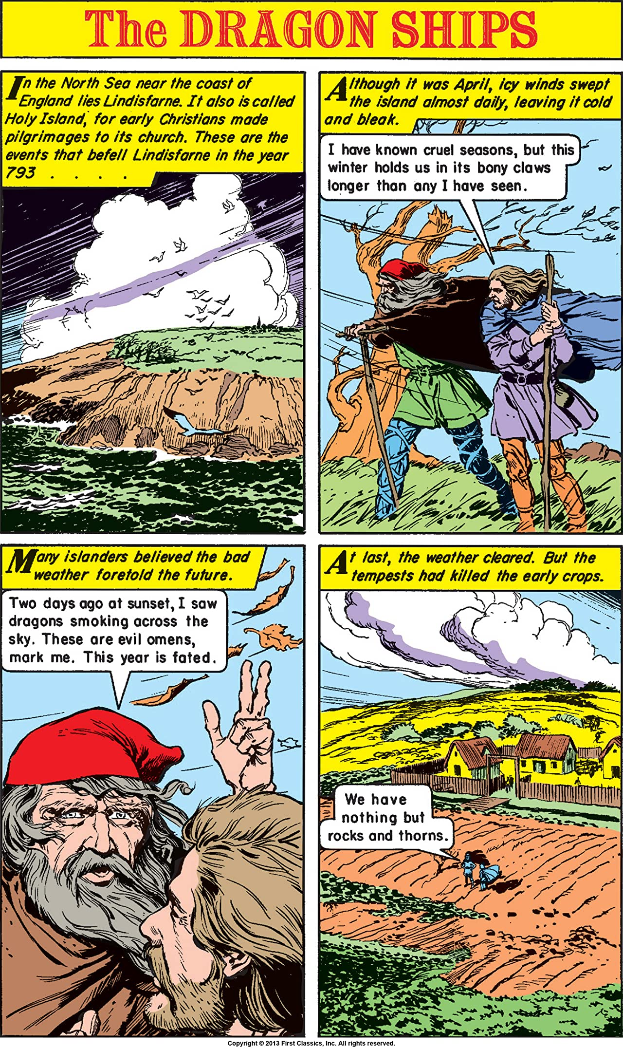Classics Illustrated World Around Us #29: The Vikings