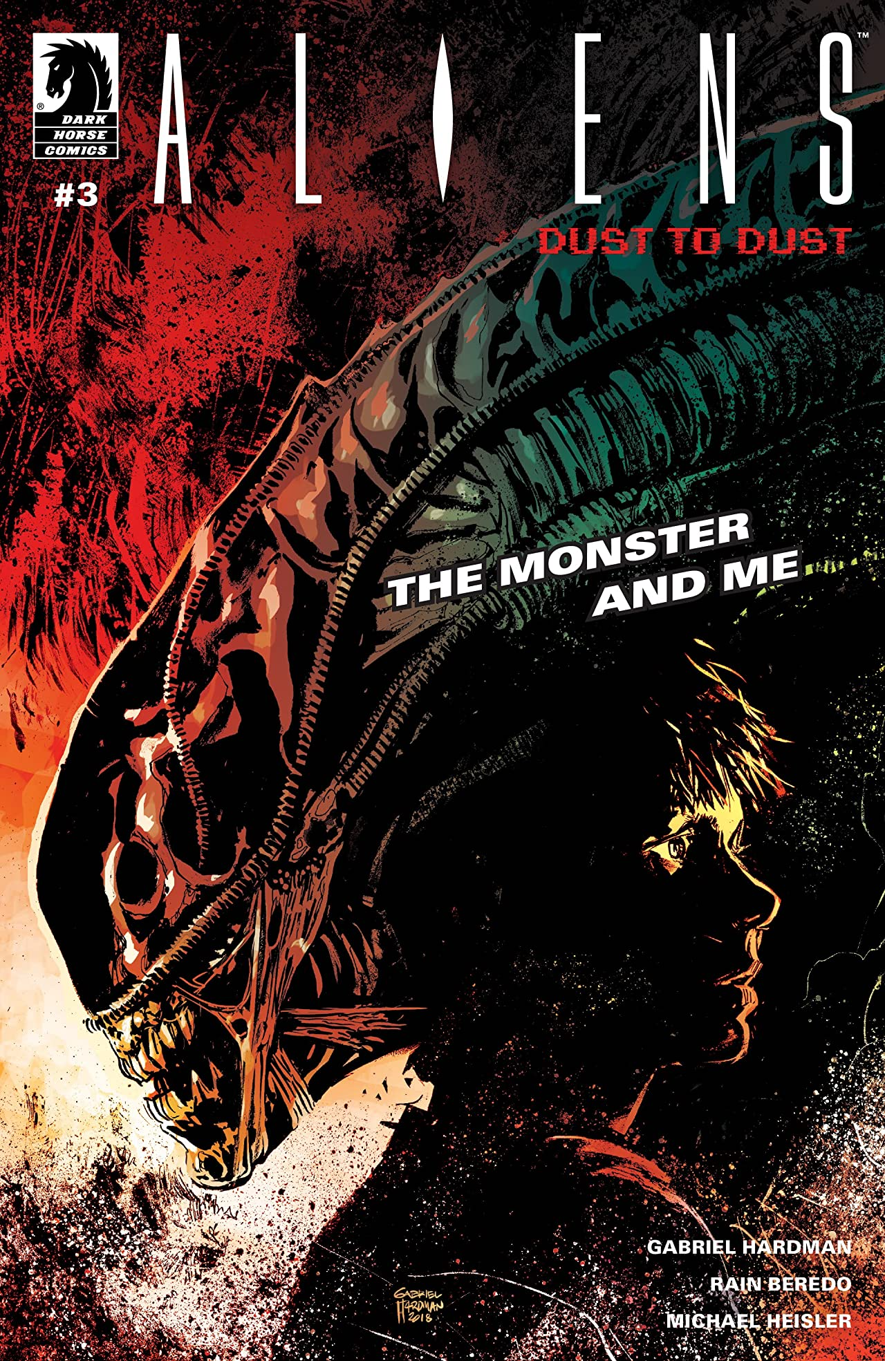 Aliens: Dust to Dust #3