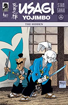 Usagi Yojimbo: The Hidden #4