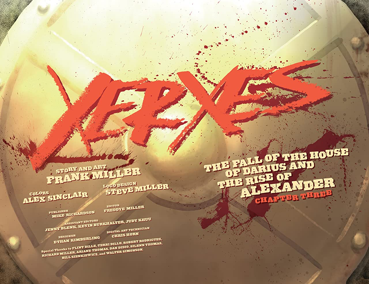 Xerxes: The Fall of the House of Darius and the Rise of Alexander #3