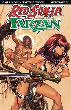 Red Sonja/Tarzan #1