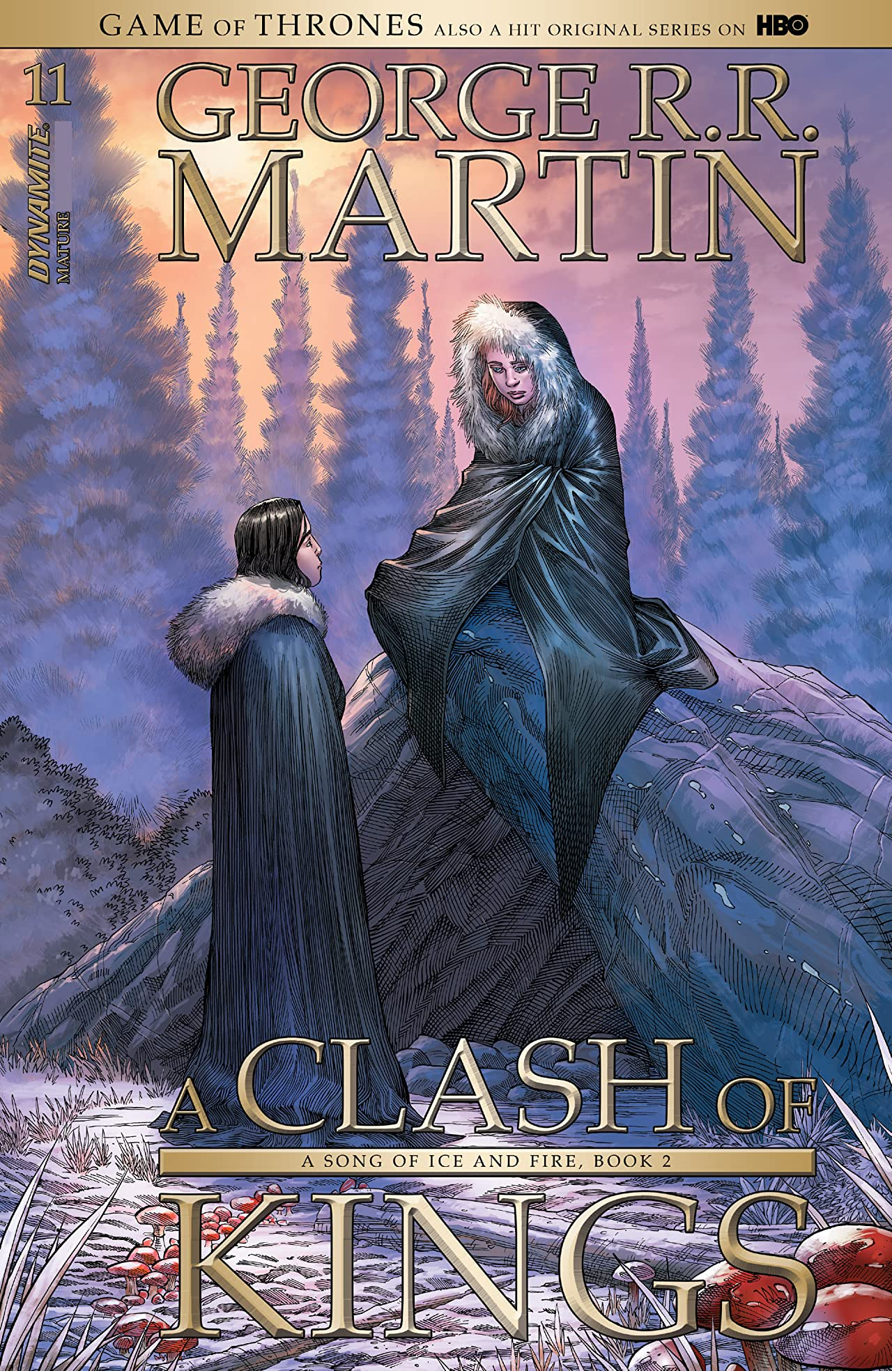 George R.R. Martin's A Clash Of Kings: The Comic Book #11