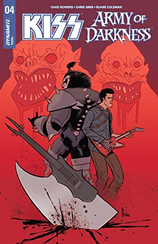 Kiss/Army Of Darkness No.4