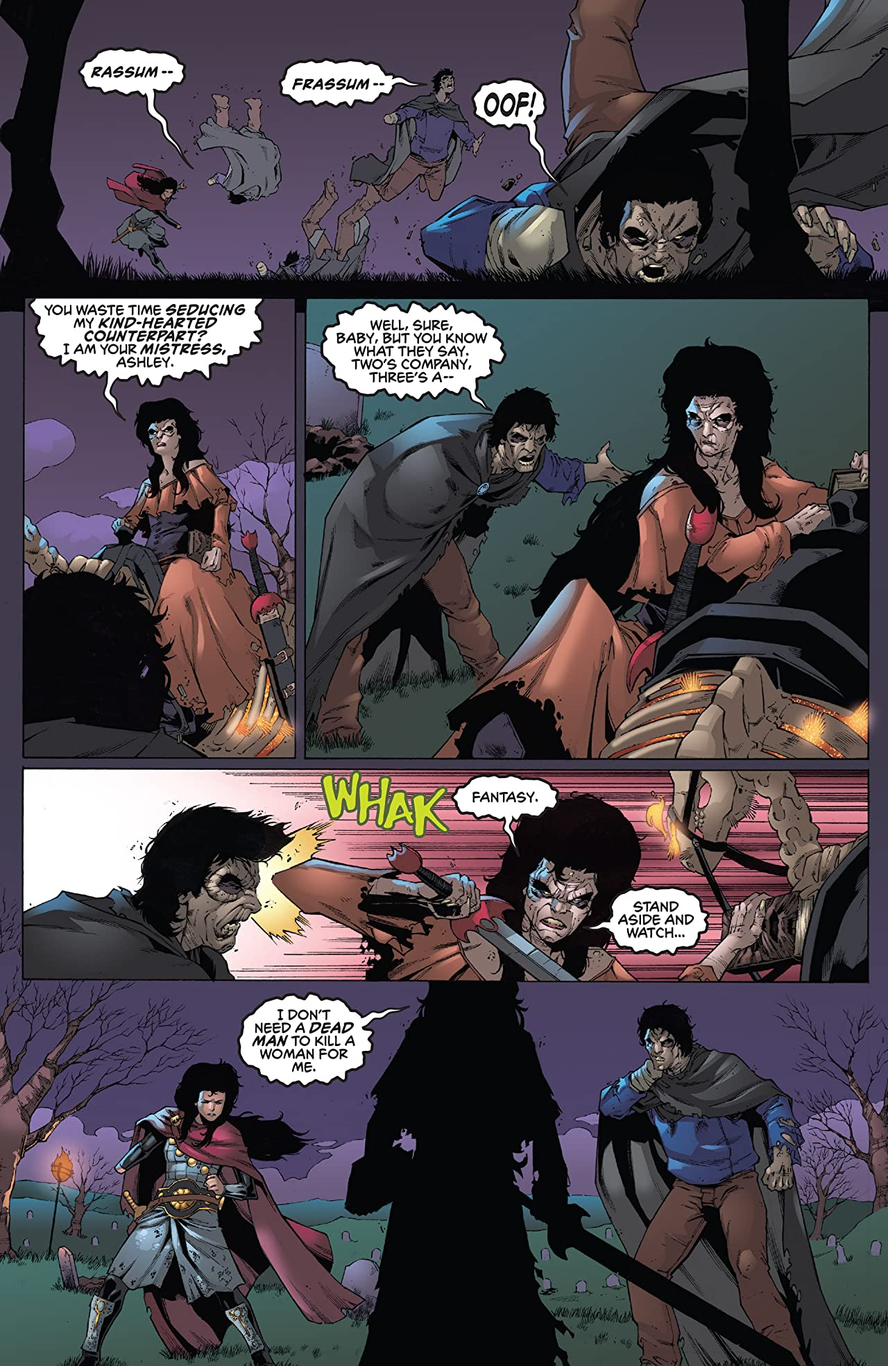 Kiss/Army Of Darkness #4