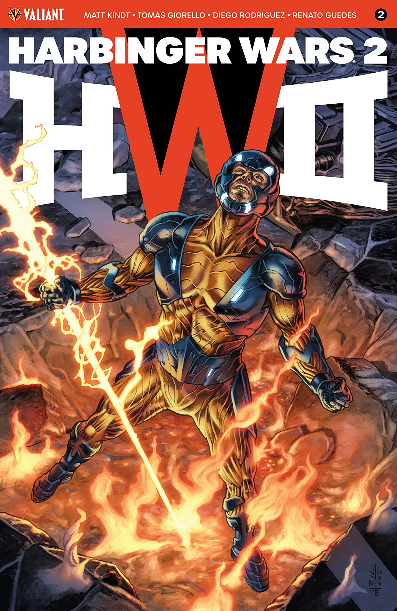 Harbinger Wars 2 No.2