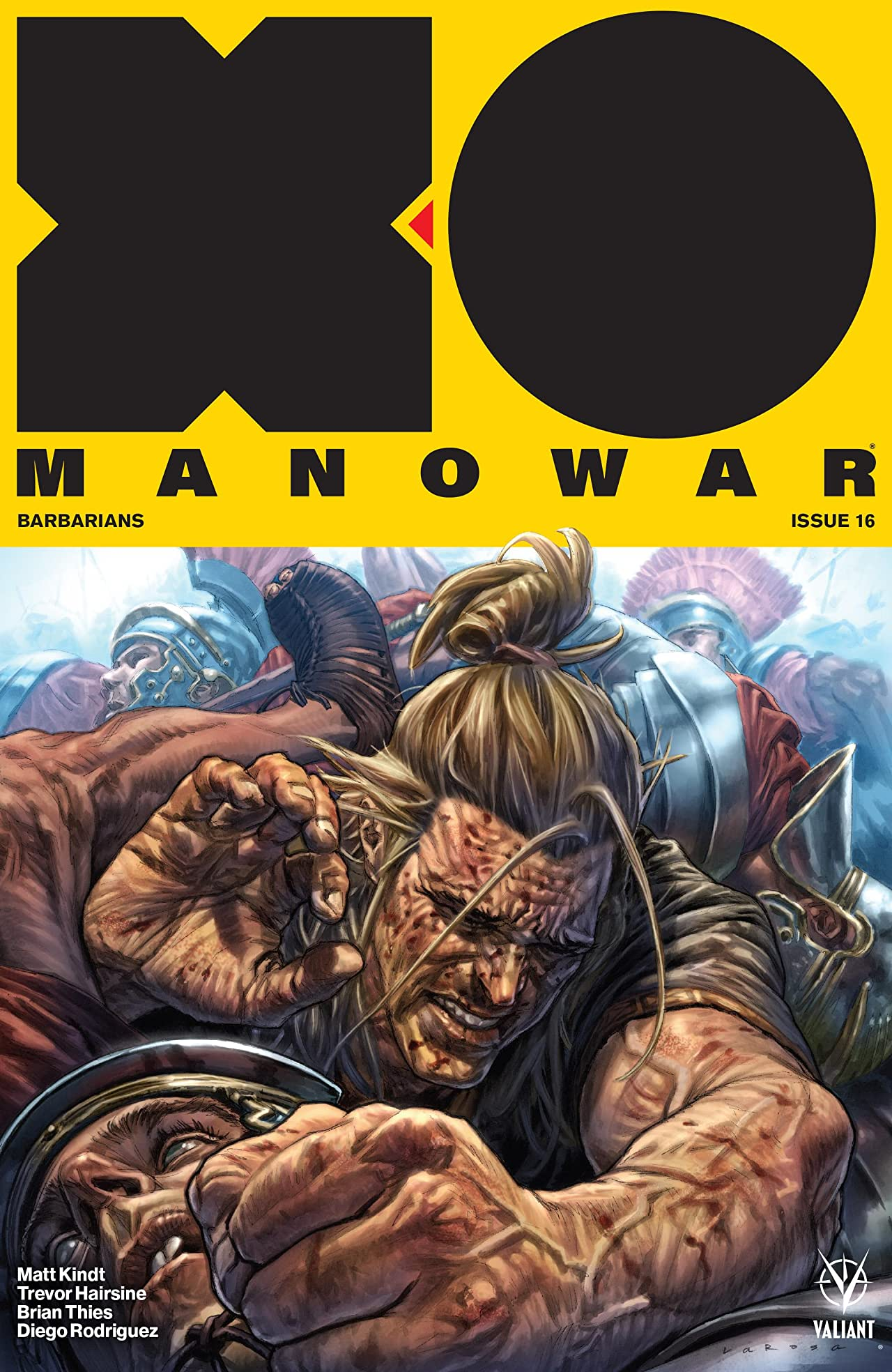 X-O Manowar (2017) No.16