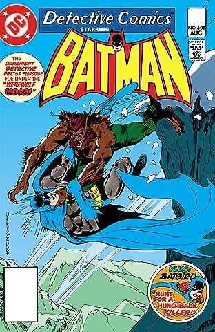 Detective Comics (1937-2011) #505