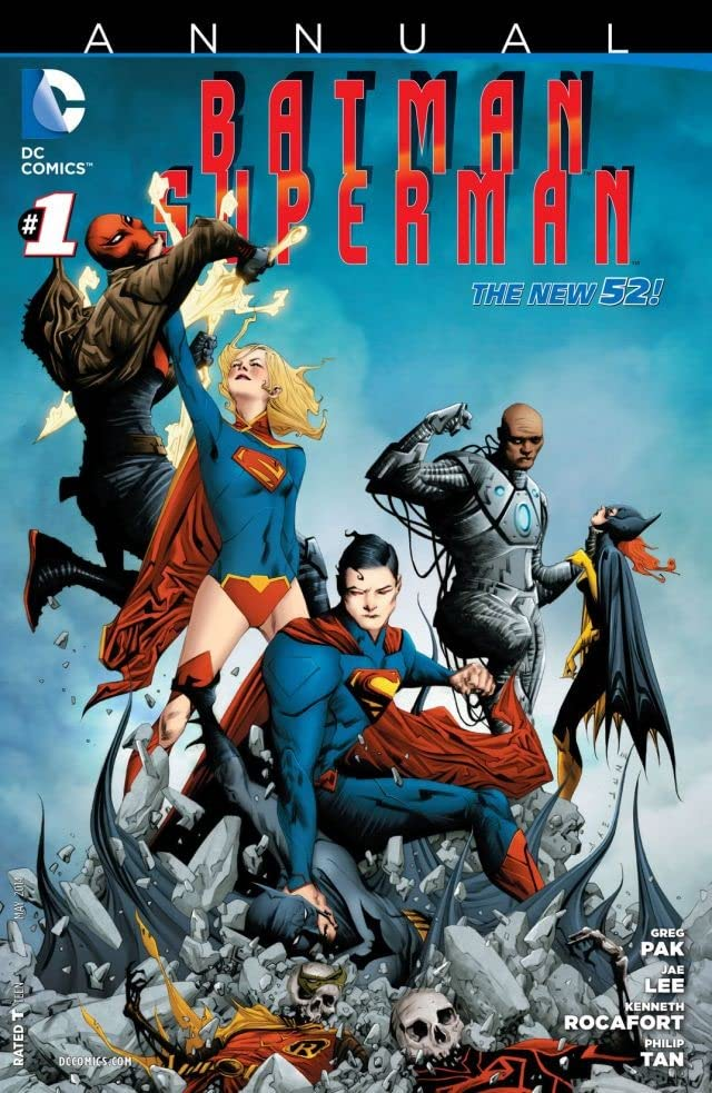 Batman/Superman (2013-) #1: Annual