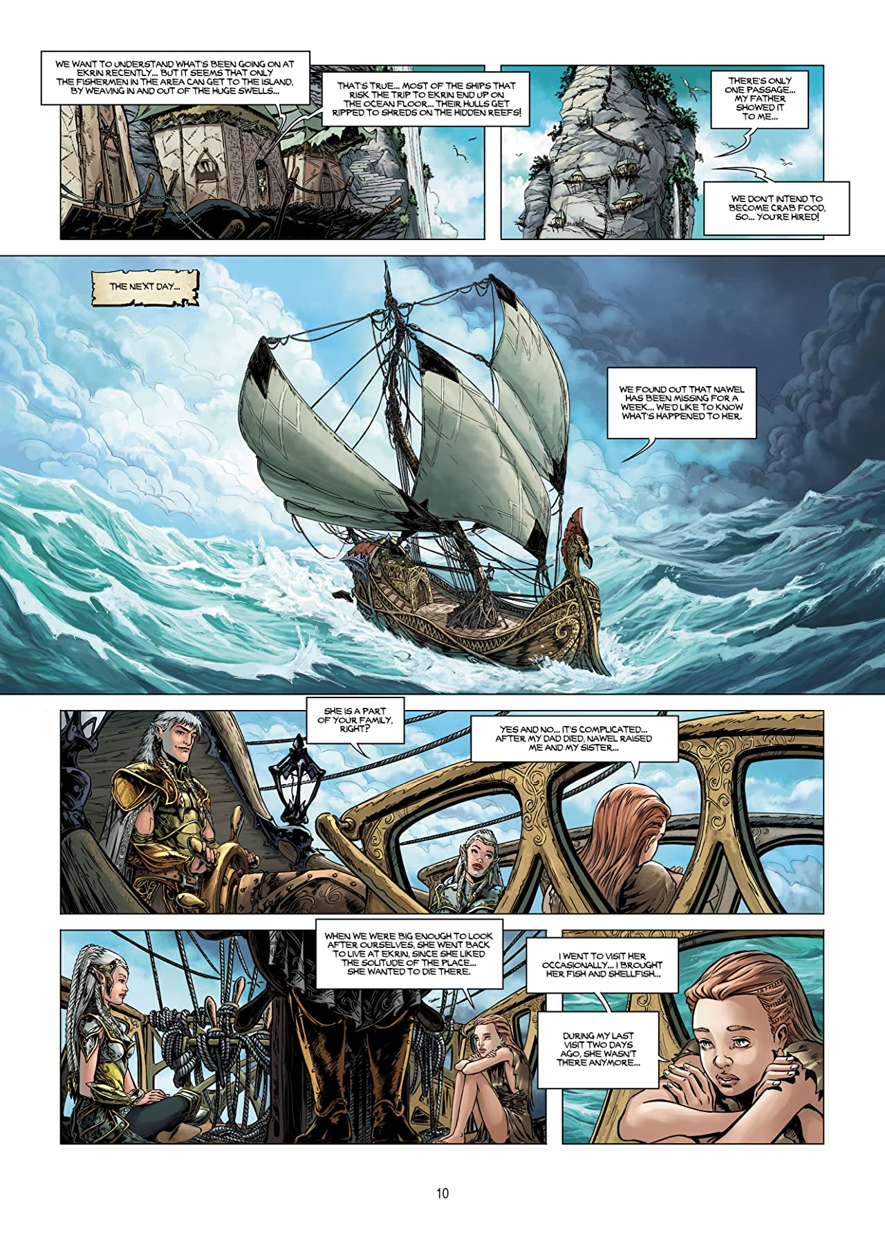 Elves Vol. 19: The Hermit of Ourann