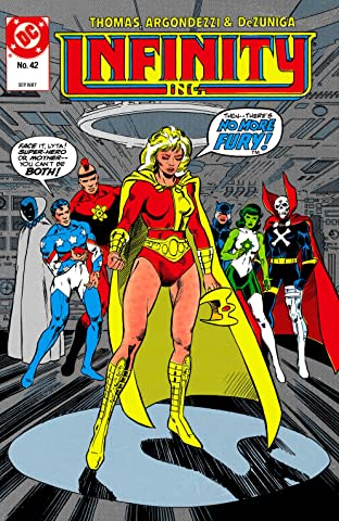 Infinity, Inc. (1984-1988) #42