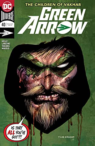 Green Arrow (2016-2019) #40
