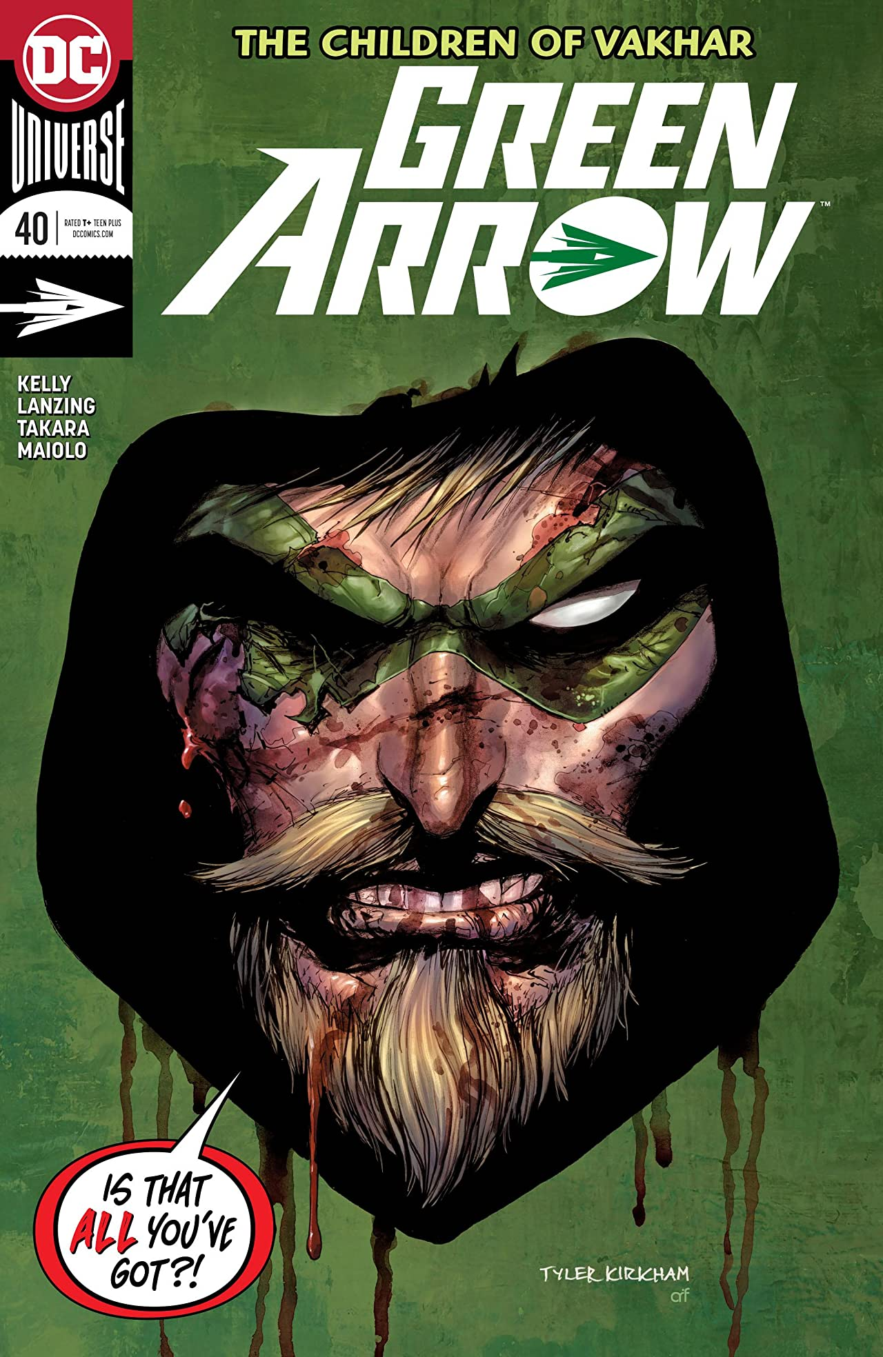 Green Arrow (2016-) No.40