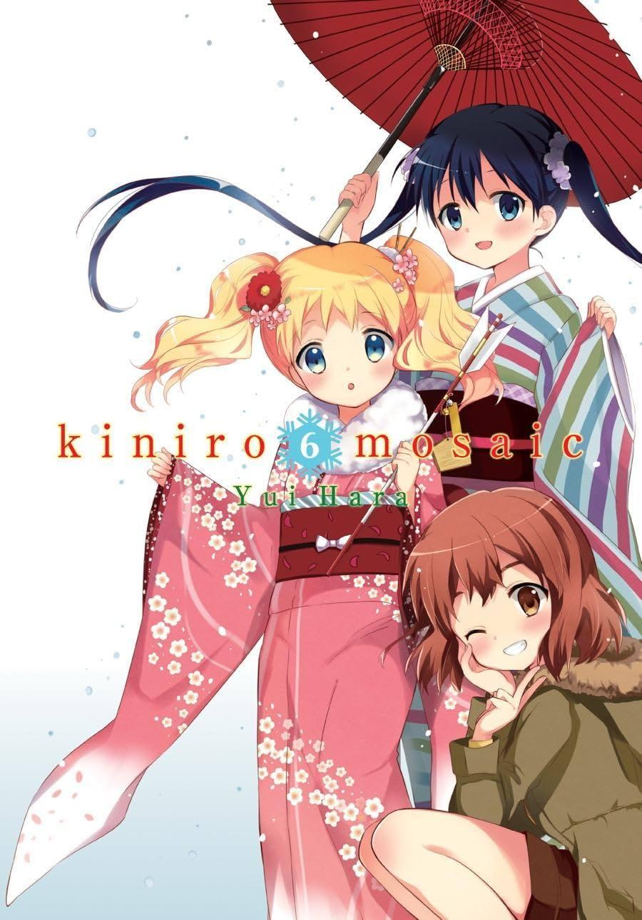Kiniro Mosaic Vol. 6