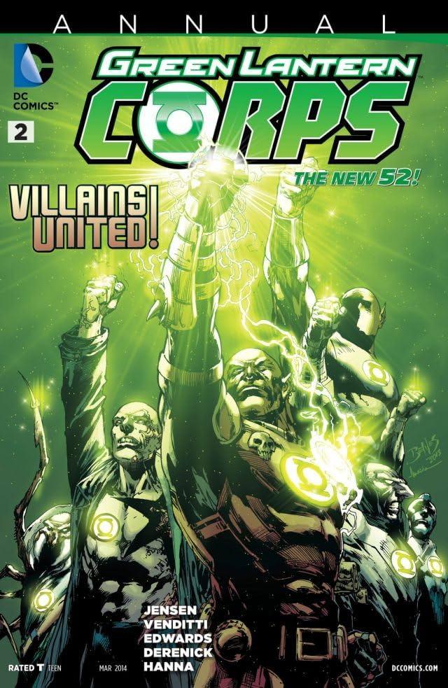Green Lantern Corps (2011-2015): Annual #2