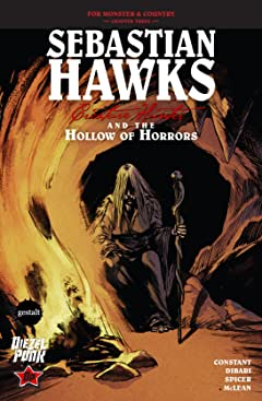 Sebastian Hawks, Creature Hunter #4