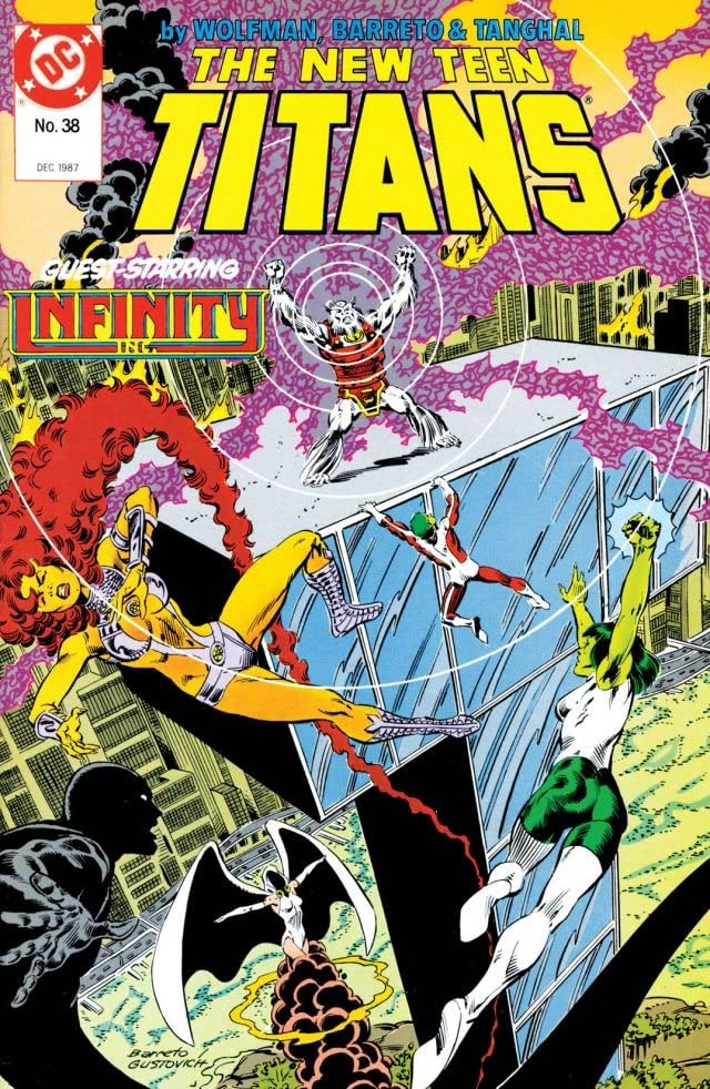 The New Teen Titans (1984-1996) #38