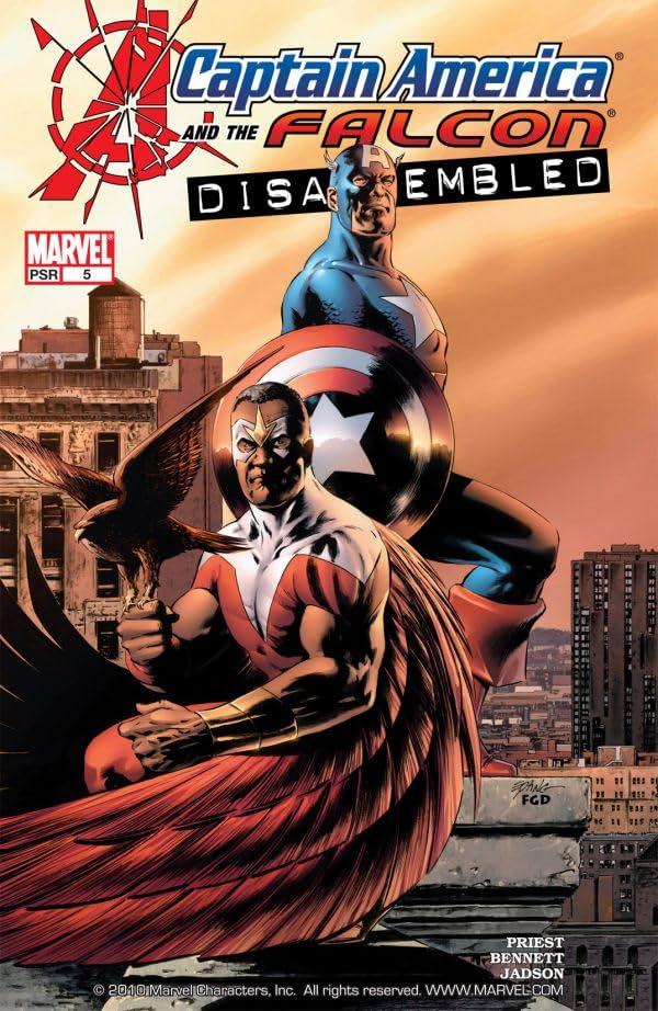 Captain America & the Falcon #5