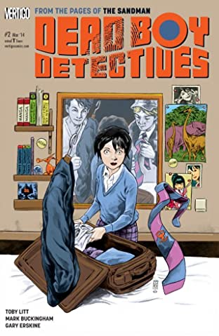 The Dead Boy Detectives (2014-) #2