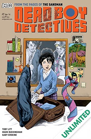 The Dead Boy Detectives (2013-2014) #2
