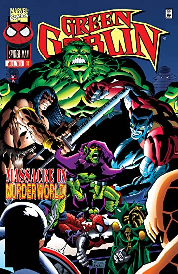 green goblin 1995 1996 10 marvel comics