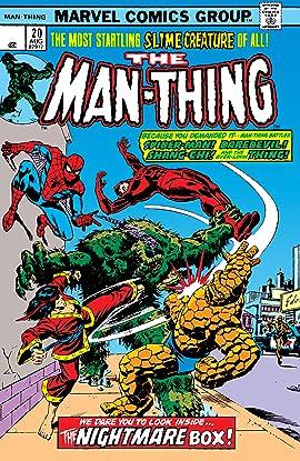Man-Thing (1974-1975) #20