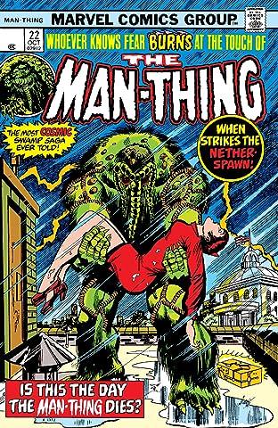 Man-Thing (1974-1975) No.22